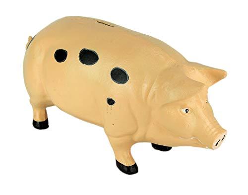 Pink Pig Piggy Bank X-Large - Door Stop - Garden - Cast Iron by PIGGYBANK (Image #4)