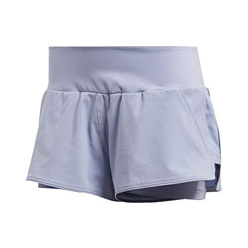 adidas Women Shorts Tennis Training Essex Pants Climalite Running Gym CV8972 (XSmall)