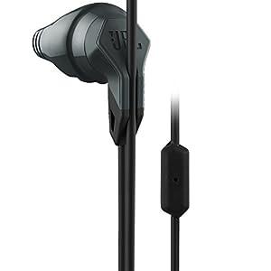 JBL – Grip 200 – Ecouteurs de Sport avec 1 Bouton – Intégré et Microphone – Noir
