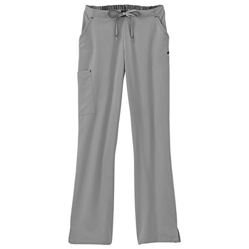 Modern Collection (Modern Fit Collection by Jockey Women's Convertible Drawstring Scrub Pant X-Small Petite Pewter)