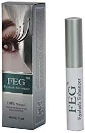 FEG Eyelash Rapid Eye Lash Growth Serum - For Eye Lash and Brow Fast Effective Growth Creates Longer & Darker Eyelashes - Best Natural Eyelash Serum in the Market by FEG