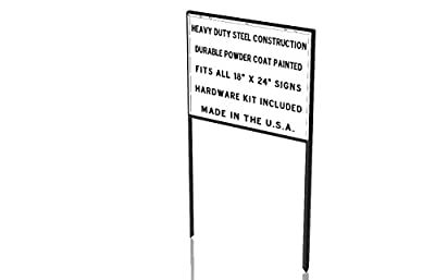Heavy Duty Yard Real Estate / Construction Sign Frame - 5 Pack / $15 Each