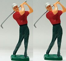 Cakesupplyshopm Item784r - Male Golfer Cake Decoration Topper Kit -2pack