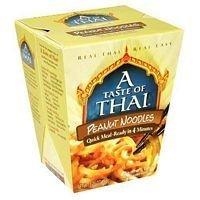 Taste Of Thai Peanut Quick Meal Noodles 5.25 Oz (Pack of 6)