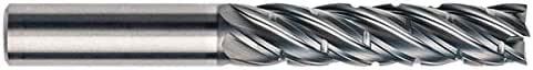 Single End Corner Radius Carbide End Mill 3//4 RedLine Tools .7500 REV5275 AlCrN Coated 5 Flute 3.0000 LOC .0300 Radius 6.0000 OAL Round Shank Type
