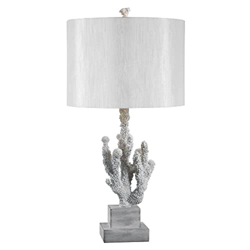 Kenroy Home 32166WH Coral Table Lamp