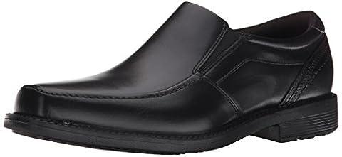 Rockport Men's Style Leader 2 Moc Toe Slip-On Loafer, Black, 11.5 W US - 2 Leather Casual Shoe