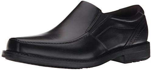 Rockport Men's Style Leader 2 Moc Toe Slip-On Loafer- Black-8.5 M (Rockport Moc Toe)
