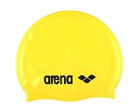 397d47d69edb ARENA - CUFFIA CLASSIC LOGO SILICONE CAP - 9166235 - YELLOW, BLACK ...