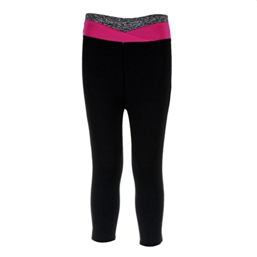 Lookatool Athletic Pants, Fitness Yoga Sport Pants Stretch Cropped Leggings