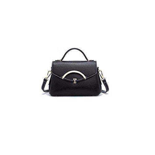 2018 nueva moda bolso bolso, Slant,Black Black