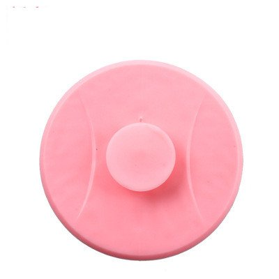 Fingertip Bathtub Drain Stopper Silicone Bath Tub Drain Stopper Plug Cover for Bathroom,Floor Drains and Kitchen Sinks Pink (Delta Stopper Assembly Toe)