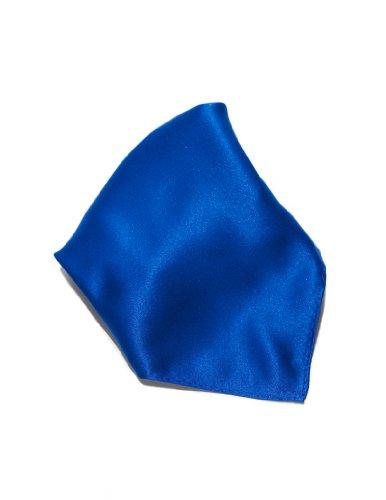 ROYAL BLUE Solid Color Hankerchief Pocket Square Hanky Men's Handkerchiefs