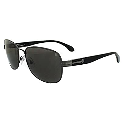 Calvin Klein Sunglasses 1176 028 Gunmetal & Black Dark Grey