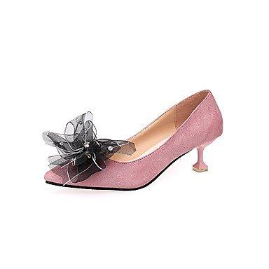 formelles ggx Evénement NoeudTalon à formelles Polyuréthane Chaussures Femme Soirée pink amp; blushing Automne Talons Habillé Chaussures LvYuan Marche Chaussures AdnaqZ7Ap