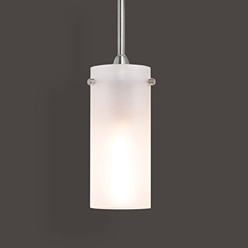 Effimero Small Stem Hung Frosted Glass Contemporary