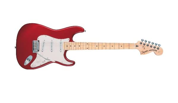 Fender Squier Standart Strat MF CAR Guitarra ElŽctrica: Amazon.es: Instrumentos musicales