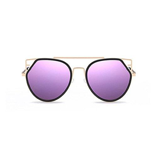 Aoligei Véritable marée Film couleur hommes et aux femmes du même chat style lunettes de soleil lunettes de soleil lunettes de soleil tendance GM des yeux RfFjom561c