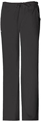 Cherokee Women's Low-Rise Drawstring Pant, Black, Medium (Cherokee Womens Drawstring Pants)