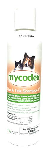 Pfizer Mycodex Shampoo with 3X Pyrethrins (6oz) ()