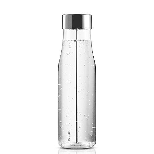 Eva Solo 567483 Wasserkaraffe mit Fruchtspieß, Edelstahl, 1 Liter, Tropffrei, MyFlavour
