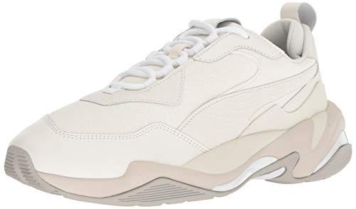 PUMA Thunder Shoe, Bright White-Gray Violet-Puma White, 9 M US