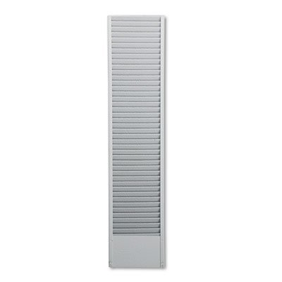 Buddy 40 Pocket Badge Holder - 40-Pocket Badge Holder Rack, Horizontal, Recycled Steel, Platinum, Sold as 1 Each