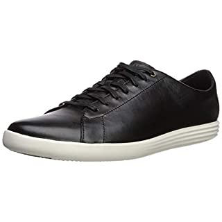 Cole Haan Men's Grand Crosscourt II Sneaker, Black/Optic White, 7 M US