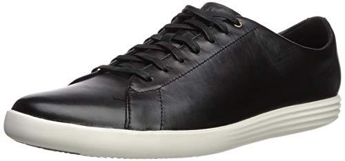 Cole Haan Men's Grand Crosscourt II Sneaker, Black/Optic White, 9.5 M US