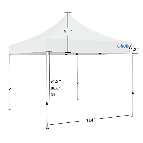 Instant Shelter Mby Architects : Ohuhu instant shelter canopy by ft white import