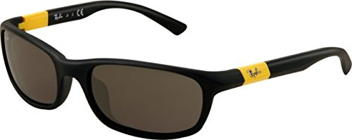 Ray-Ban Junior Kids Sunglasses - RJ9056S / Frame: Matte Black Lens: Grey (Ray Ban Kids Frames compare prices)