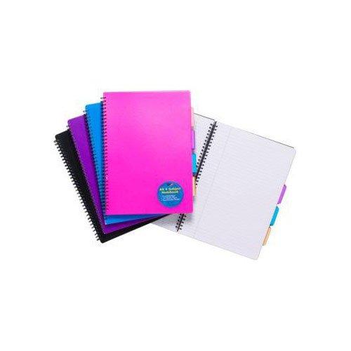1 pezzo 700/g Colori Assortiti SG Education TS 301475/Tiger 4/Subject notebook formato A4 100/fogli