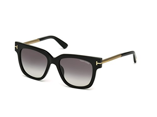 Tom Ford Sunglasses 436F TF436 TF436F Tracy 54mm-18MM-140MM Asian Fit (01B SHINY - Ford Tom Fit