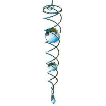 Windspiel Kristall Spirale