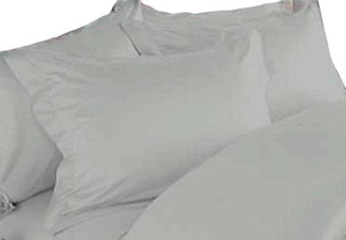 (MARRIKAS 100% Silk Pillowcase Pair (2) KING STONE)