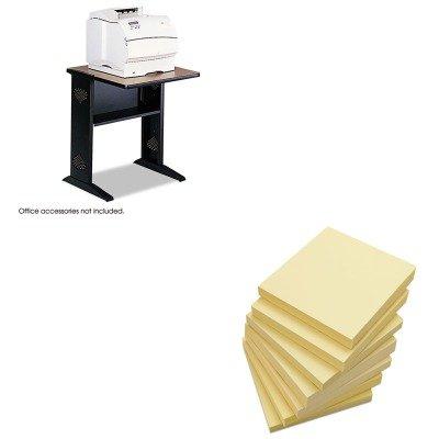 KITSAF1934UNV35668 - Value Kit - Safco Fax/Printer Stand w/Reversible Top (SAF1934) and Universal Standard Self-Stick Notes (UNV35668) -