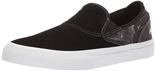 - Emerica Men's Wino G6 Slip-ON X PSOCKADELIC Skate Shoe, Black, 10.5 Medium US