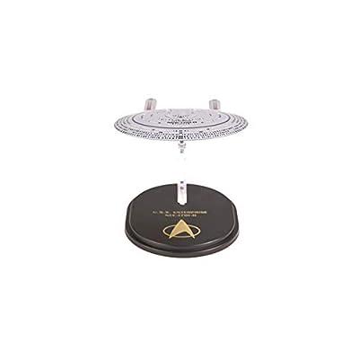 Quantum Mechanix Star Trek The Next Generation: USS Enterprise NCC-1701D QMx Mini Master Ship Replica Toy, Multicolor: Toys & Games