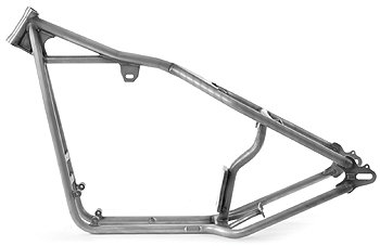 Kraft/Tech 20228 Black Iron Head Sportster Rigid Frames