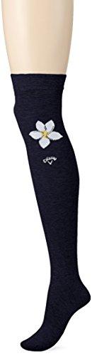 (キャロウェイ アパレル) Callaway Apparel [ レディース] 防菌 防臭 ニーハイ ソックス (機能素材ドラロン) / 241-8185808 / かわいい 靴下 ゴルフ