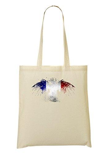 France Eagle Flag Bolso De Mano Bolsa De La Compra