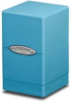 Ultra Pro - Caja de Dados, diseño de Torre Satinada, Azul Claro: Amazon.es: Juguetes y juegos