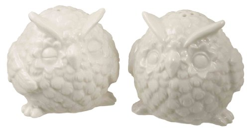 Owl Salt and Pepper Set