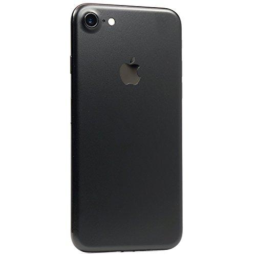 iPhone 7 Black Matte Skin - SKINTZ Wrap - Textured - Durable - Protection Sticker - Black Matte