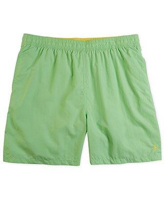 Polo Ralph Lauren Swim Trunks 3xb Mens Big Tall Lime Green Yellow Pony