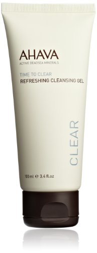 AHAVA Time to Clear Refreshing Cleansing Gel, 3.4 fl. oz.