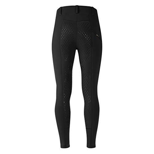 Kerrits Powerstretch Pocket Tight II Kneepatch Black Size: - Seat Fleece Full