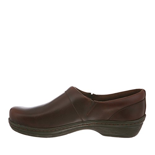 Smooth Mahoganny Clog Back Women's Mission KLOGS Closed Footwear Nursing YZ801xPn