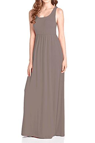 Tank Maxi Mocha Women's Beachcoco Dress 1C6xEBnq