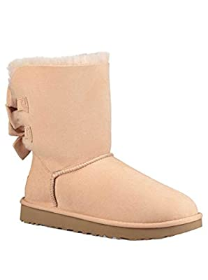 UGG Women's W Bailey Bow Short Ruffle Fashion Boot